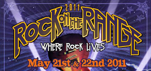Rock On The Range 2011 gets daily lineups