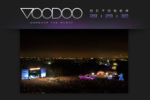 VOODOO EXPERIENCE 2011: SOUNDGARDEN ANNOUNCED AS FIRST HEADLINER FOR FESTIVAL THIS OCTOBER 28, 29 AND 30 IN NEW ORLEANS