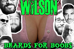 Backroads With Phyllis: Share Your Beard with Wilson If You Love Boobies