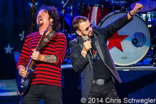 Ringo Starr and his 12th All Starr Band - 06-27-14 - DTE Energy Music Theatre, Clarkston, MI