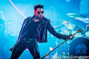 Queen with Adam Lambert - 07-12-14 - North American Tour, The Palace Of Auburn Hills, Auburn Hills, MI