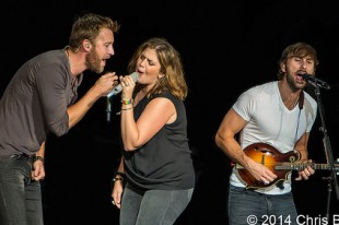 Lady Antebellum - 08-22-14 - Take Me Downtown Tour, DTE Energy Music Theatre, Clarkston, MI