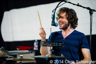 Kongos - 08-01-14 - 89X Birthday Bash presents 2014 Mechanical Bull Tour, DTE Energy Music Theatre, Clarkston, MI