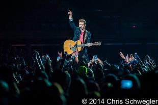 Hunter Hayes - 11-22-14 - Tattoo (Your Name) Tour, The Palace Of Auburn Hills, Auburn Hills, MI