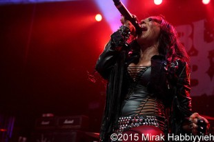 Butcher Babies – 01-16-15 – Royal Oak Music Theatre, Royal Oak, MI