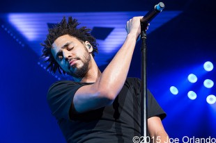 J. Cole – 07-25-15 – 2014 Forest Hills Drive Tour, DTE Energy Music Theatre, Clarkston, MI