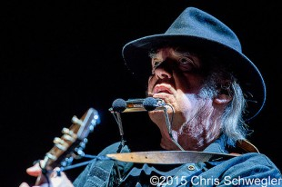 Neil Young and Promise of the Real – 07-14-15 – Rebel Content Tour, DTE Energy Music Theatre, Clarkston, MI