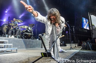 Foreigner – 08-08-15 – First Kiss: Cheap Date Tour, DTE Energy Music Theatre, Clarkston, MI