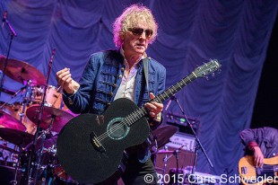 Ian Hunter And The Rant Band - 09-11-15 - Houseparty Tour 2015, DTE Energy Music Theatre, Clarkston, MI