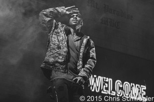 Big Sean – 11-06-15 – Paradise Tour, Joe Louis Arena, Detroit, MI