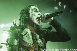 Cradle of Filth – 03-04-16 – Inquisitional Torture 2016 Tour, St Andrews Hall, Detroit, MI