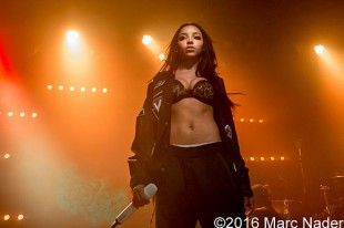 Tinashe – 03-03-16 – Joyride World Tour, Saint Andrews Hall, Detroit, MI