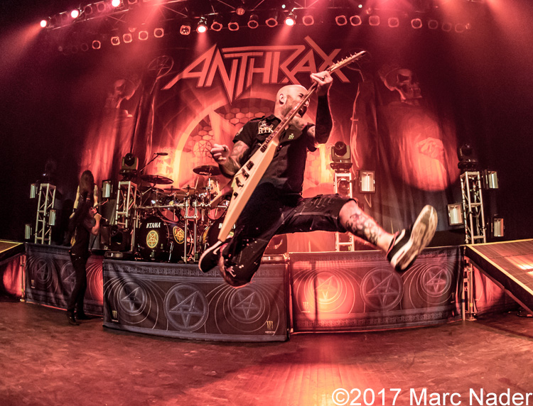 Anthrax – 04-08-17 – The Fillmore, Detroit, MI