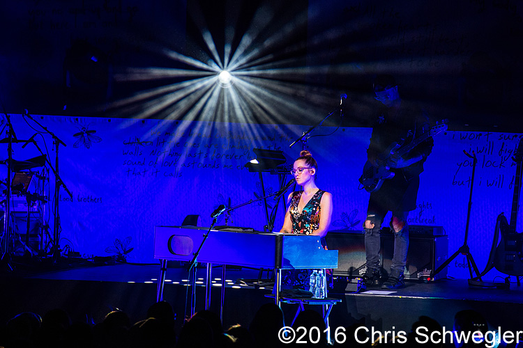 Ingrid Michaelson – 10-08-16 – The Fillmore, Detroit, MI