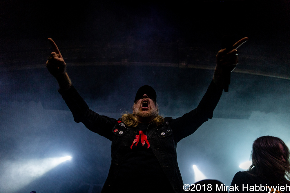 At The Gates – 11-07-18 – St. Andrew's Hall, Detroit, MI