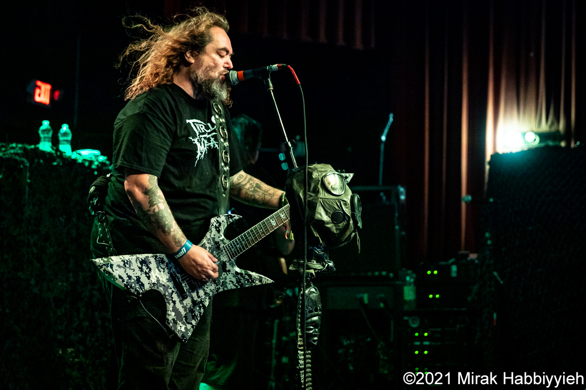 Soulfly – 09-05-21 – Diesel Concert Lounge - Chesterfield, MI